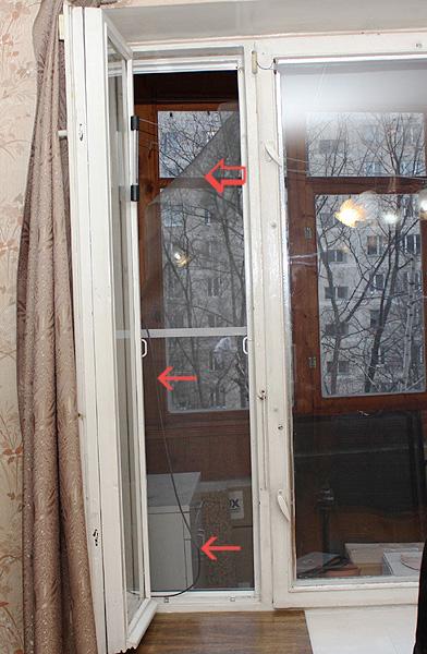 Пластиковые окна и коты